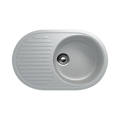 Врезная кухонная мойка EcoStone ES-16 310 (серый)