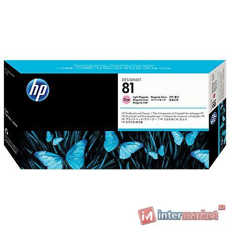Печатающая головка HP C4955A 81, Light Magenta (с устройством очистки)