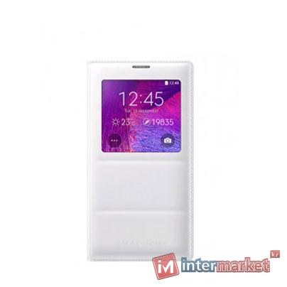 Чехол Samsung S View Cover Padding for Note 4 EF-CN910BWEGRU white