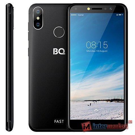 Смартфон BQ-5515L Fast, Black 5.5